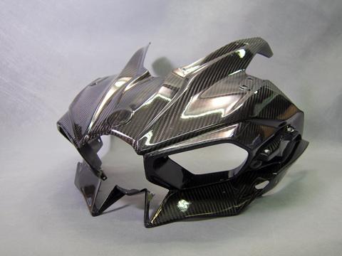 A-TECH アッパーカウルSTD (クリア塗装) CDC Ninja H2 15- 《エーテック K80035-C》