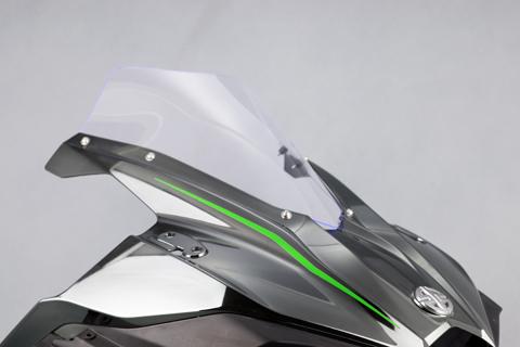 A-TECH PROスクリーン (アクアグリーン) Ninja H2 15- 《エーテック K80000-S-5》