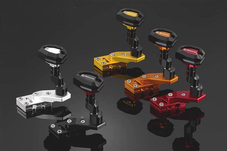 BIKERS ボディプロテクター LRセット レッド CBR250R 14-16 《バイカーズ[PLOT] H0351-RED外装 バイカーズ》