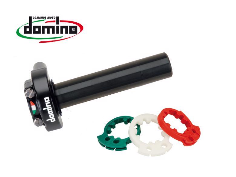 domino レーシングスロットルキット ブラック 汎用 《ドミノ 5430.96BMOTO GP 》