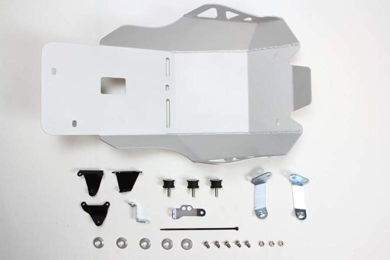 PLOT アンダーガード サンドブラストシルバー NC700X/S 12-13/750X/S 14-18 《PLOT PUG181S》