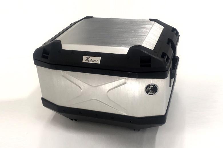 ヘプコ&ベッカ XPLORER TC45 シルバー 《ヘプコアンドベッカー 610212 00 00ツーリング ケース 》