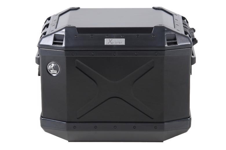 ヘプコ&ベッカ XPLORER サイドケース 40 右 ブラック 《ヘプコアンドベッカー 610216 00 01ツーリング ケース 》