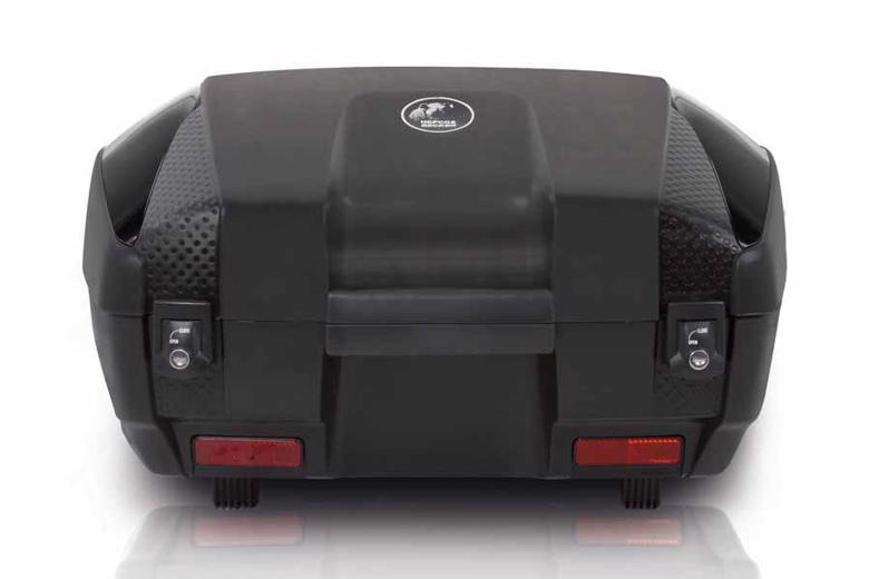 ヘプコ&ベッカ JUNIOR トップケース 55     FLASH 55L ブラック×ブラック 《ヘプコアンドベッカー 610047 00 11ツーリング ケース 》