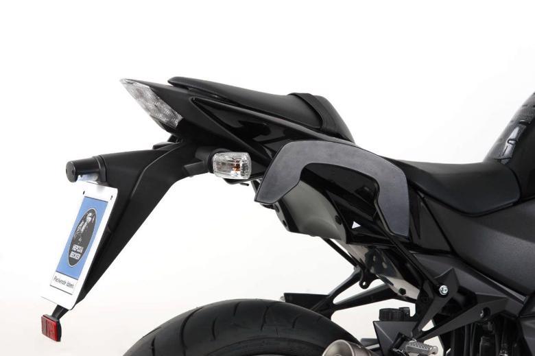 ヘプコ&ベッカ C-Bow ブラック Z750 07-12 《ヘプコアンドベッカー 630262 00 01ツーリング ケース 》