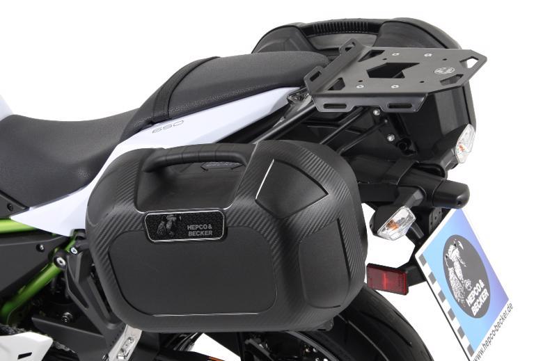 ヘプコ&ベッカ ミニラック Z650 17-18 《ヘプコアンドベッカー 6602527 01 01ツーリング ケース 》
