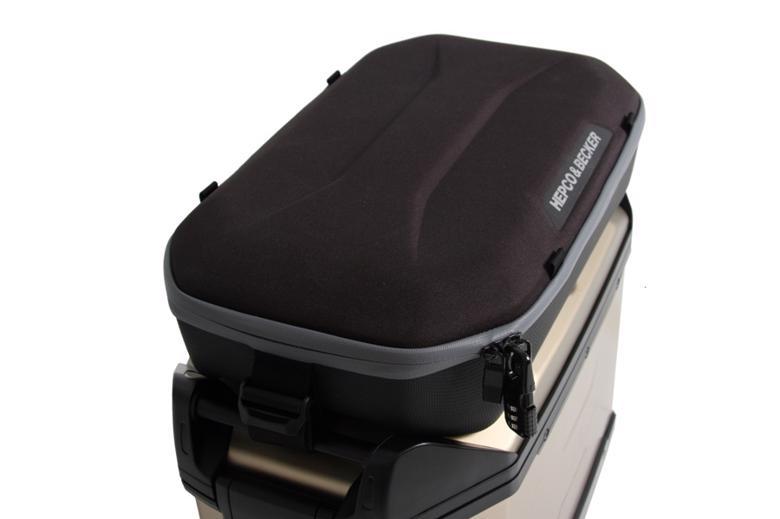 ヘプコ&ベッカ トップリッドバッグ11L XCEEDサイドケース用 《ヘプコアンドベッカー 640006 00 01ツーリング ケース 》