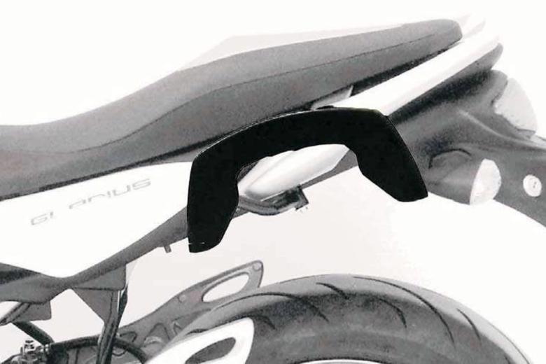 ヘプコ&ベッカ C-Bow ブラック GLADIUS 650 08-15 《ヘプコアンドベッカー 6303521 00 01ツーリング ケース 》