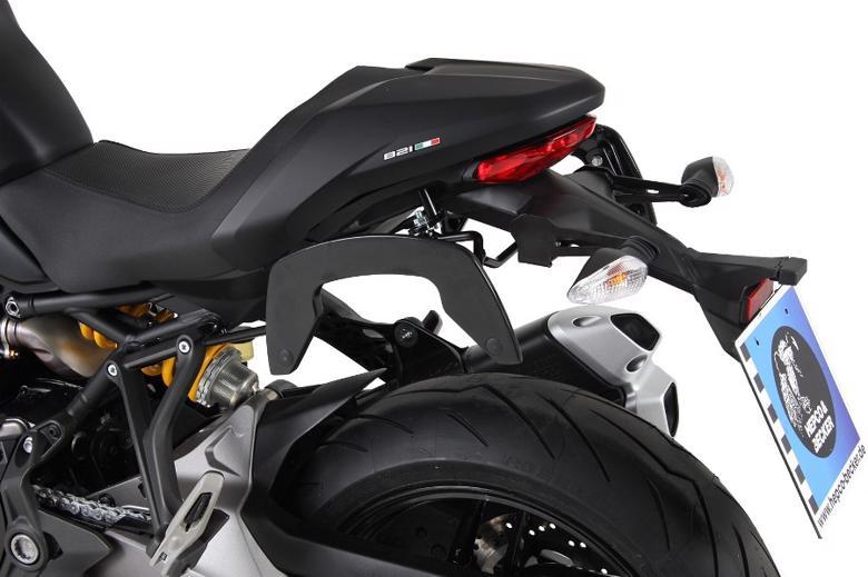 ヘプコ&ベッカ C-Bow ブラック Monster 821 18 《ヘプコアンドベッカー 6307565 00 01ツーリング ケース 》