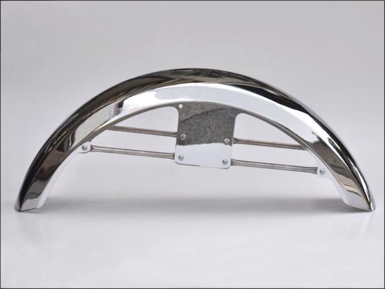 シックデザイン ロングタイプ スポーツフェンダー フロント クロームメッキ CB1100/EX 10- 《シックデザイン CB-FF2-CR》