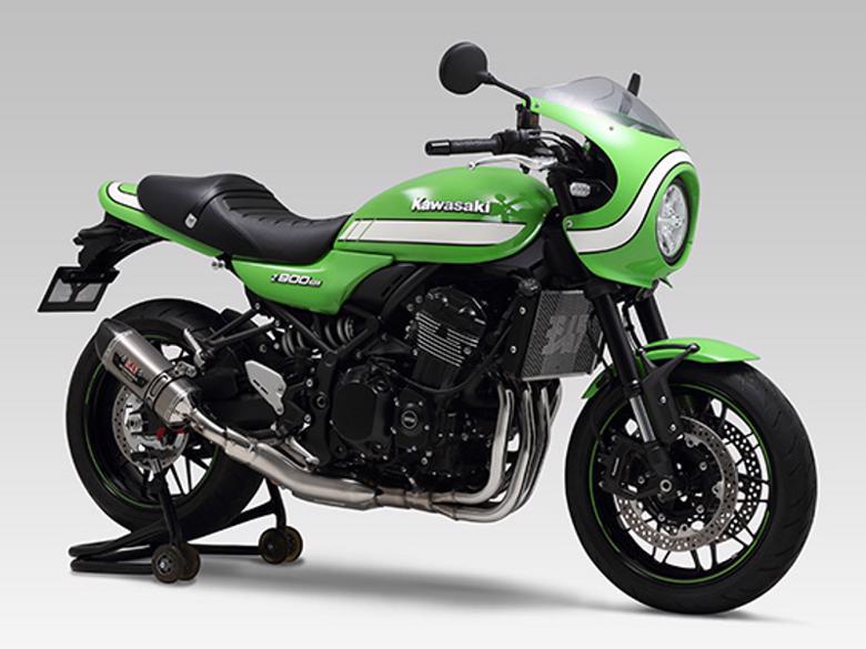 ヨシムラ Slip-On R-77Sサイクロン STC Z900RS/CAFE 18 《ヨシムラジャパン 110-269-5W80Z900RS》