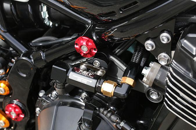 ベビーフェイス フレームキャップ RED/4pc Z900RS 18- 《ベビーフェイス 005-K0013RD》