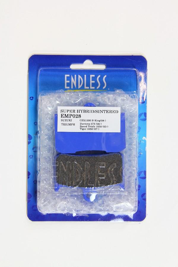 エンドレス ハイブリットシンタードブレーキパッド DAYTONA675 06-08 《エンドレス EMP028》