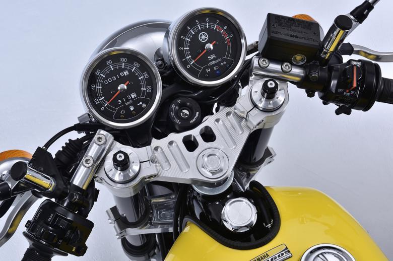 OVER ステム&スポーツライディングハンドルキット SR400 (FI) 《オーヴァー 55-401-11オーバー》