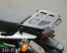 キジマ リアキャリア ブラック KSR110/KSR-PRO 13- 《キジマ 210-219》