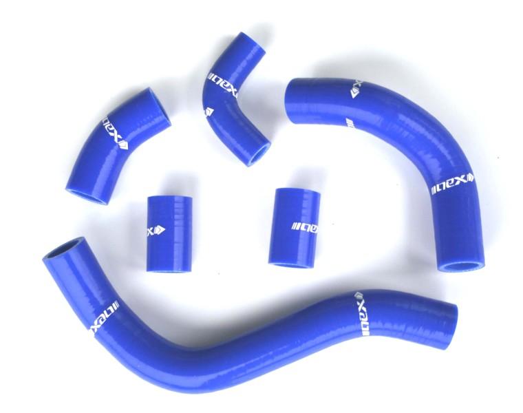ネックス.P シリコンラジエターホースKIT ブルー CBR250R 11-16 《ネックスパフォーマンス SH-HD525BL》