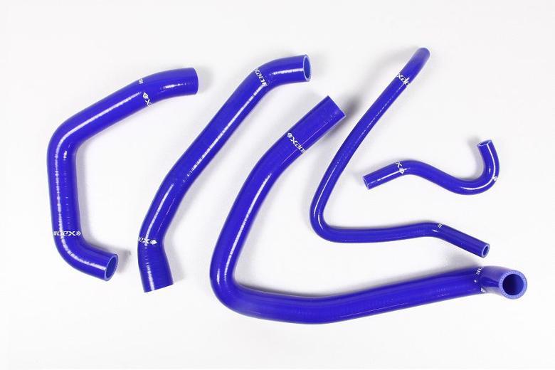 ネックス.P シリコンラジエターホースKIT ブルー ZZ-R1400 06-11 《ネックスパフォーマンス SH-KW524BL》