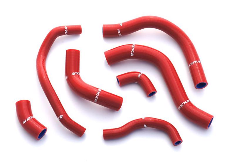 ネックス.P シリコンラジエターホースKIT レッド 3本 S1000RR 09-16 《ネックスパフォーマンス SH-BM501RD》