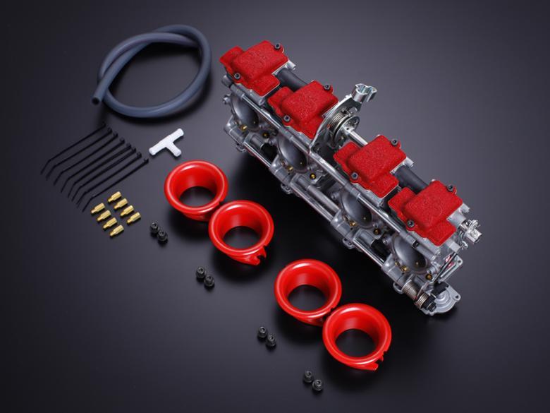 ヨシムラ FCR-MJN39 ファンネル シルバー ZRX1100/ZRX1200 《ヨシムラジャパン 759-299-2500》 スーパーセール