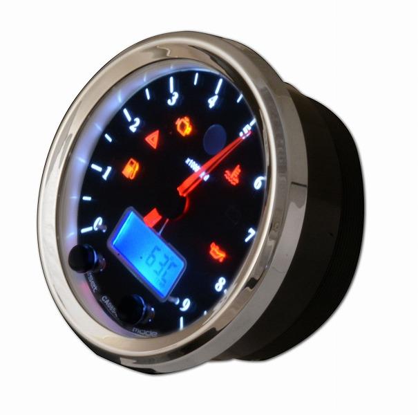 エースウェル 多機能デジタルメーター BLK CA085-352-B 《エースウェル CA085-352-B》