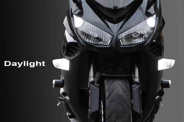 BOSSCOM デイライト内蔵LEDウインカーZ11 Ninja1000 《ボスコム Z1100Ni1000》