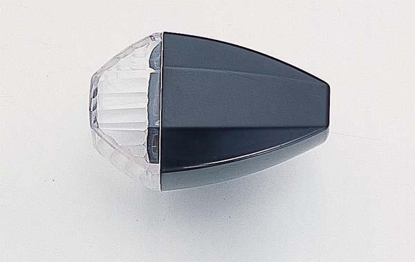 POSHフェイス ZRタイプウインカーBK/クリアCカット GPZ(ユシュツ) 《ポッシュフェイス 038086-06》