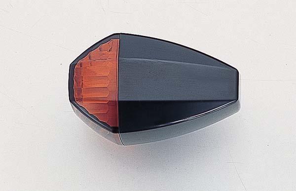 POSHフェイス ZRタイプウインカーBK/アンバーCカット XJR1300 00- 《ポッシュフェイス 060485-06》