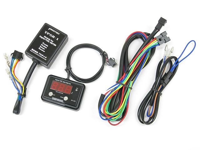 Protec   DG-C01 デジタルフューエルマルチメーター TPS(スロットルポジションセンサー)付きキャブ車用 《プロテック 11289》