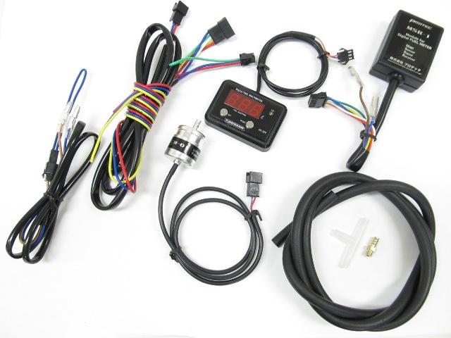 Protec   DG-C02 デジタルフューエルマルチメーター TPS(スロットルポジションセンサー)無しキャブ車用 《プロテック 11290》