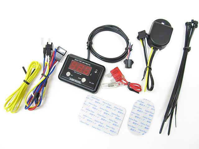 Protec DG-RM01デジタルフューエルマルチメーター クラシックミニFi車 92-00 《プロテック 11511》