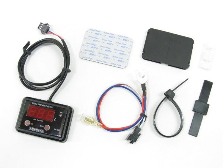 Protec DG-Y06 デジタルフューエルマルチメーター セロー250(DG17J)08- 《プロテック 11520》
