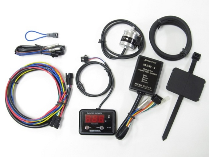 Protec DG-K04 デジタルフューエルマルチメーター ZEPHYR400 89-95 《プロテック 11525》