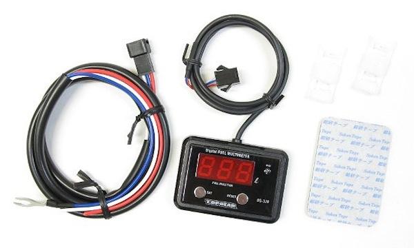 Protec   DG-K06 デジタルフューエルマルチメーター Ninja250SL/BX250A 15- 《プロテック 11527》