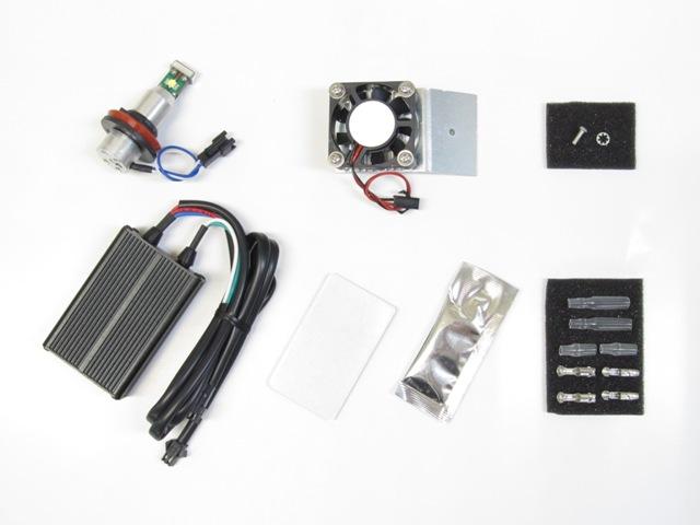 Protec   LB11-S LEDヘッドライトバルブ  H11/H9/H8共通 12v 20w 6000K (1本) 《プロテック 65032》