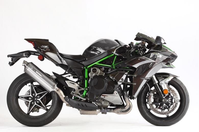 【値下げ】モリワキ MXR スリップオン WT Ninja H2 15- 《モリワキエンジニアリング 01810-6J249-00》