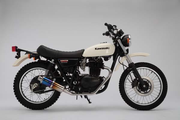 ビームス SS300チタン-SP JMCA 250TR BJ250K7F 《ビームスモーターカンパニー バイク用マフラー J402-09-000》◇Cr◇