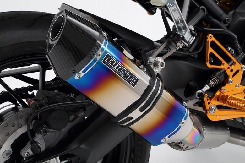 ビームス CORSA-EVOII ヒートチタン フルエキ XSR900 《ビームスモーターカンパニー G245-65-T2J》◇Cr◇