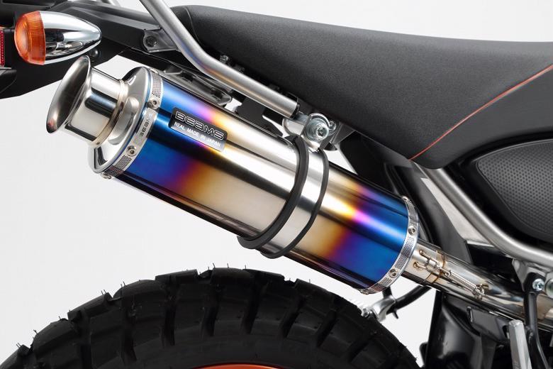 ビームス SS300ヒートチタンSP S/O TRICKER Fi 08- 《ビームスモーターカンパニー バイク用マフラー G223-06-004》◇Cr◇