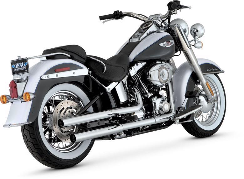 VanceHines STRAIGHTSHOTS HS S/O SOFTAIL 07-16 《バンスアンドハインズ 1801-0259》【マフラーの販売ですバイク車体は別売りです】