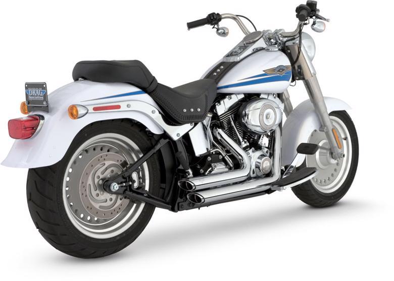 VanceHines SHORT SHOTS STAGGERED SOFTAIL 86-11 《バンスアンドハインズ 1800-0452》【マフラーの販売ですバイク車体は別売りです】