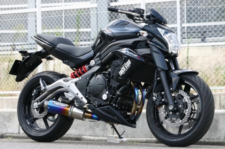 トリックスター レーシングエキゾースト/ヤキチタン ER-6n/Ninja650 12- 《トリックスター RFT-023-YTGP》 スーパーセール