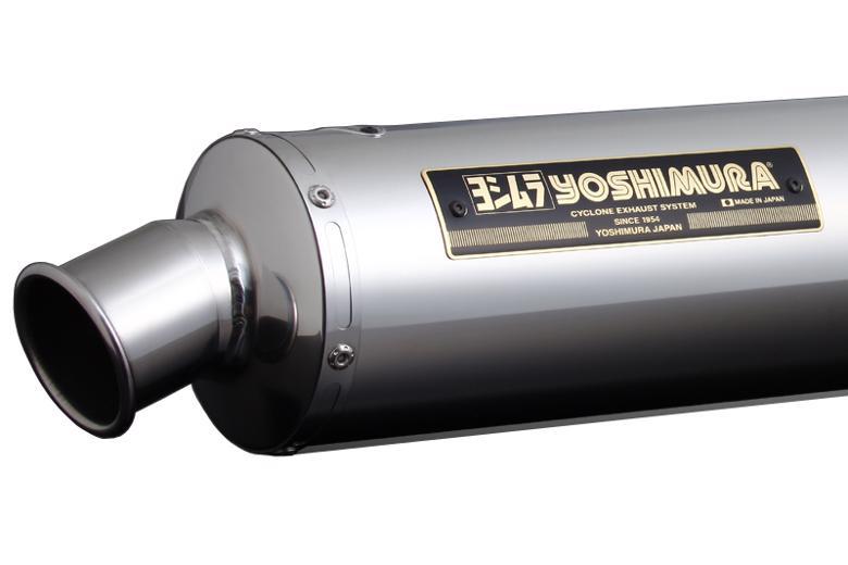 ヨシムラ 機械曲チタンサイクロン TS ZRX400 94-08 《ヨシムラジャパン 110-232-8254》