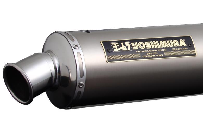 ヨシムラ 機械曲チタンサイクロン TT ファイヤースペック SR400/500 《ヨシムラジャパン 110-351F8280》