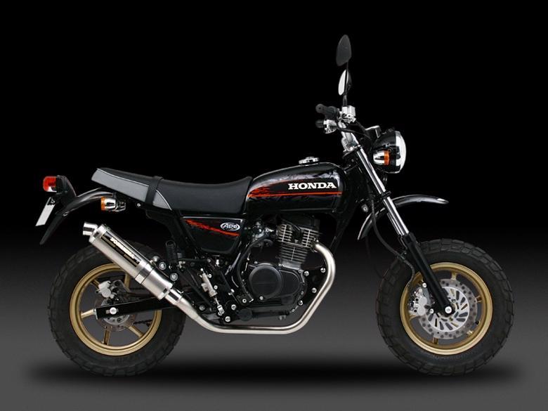 ヨシムラ トライオーバルチタンサイクロン TC ファイヤースペック APE100 02-06 《ヨシムラジャパン 110-406F8990》