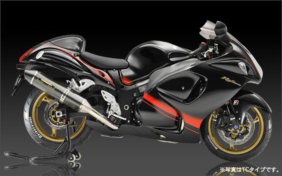 スーパーヨシムラ Tri-Ovalチタンサイクロン TTB GSX1300R K8 カナダ 《ヨシムラジャパン 110-509-8N80B》