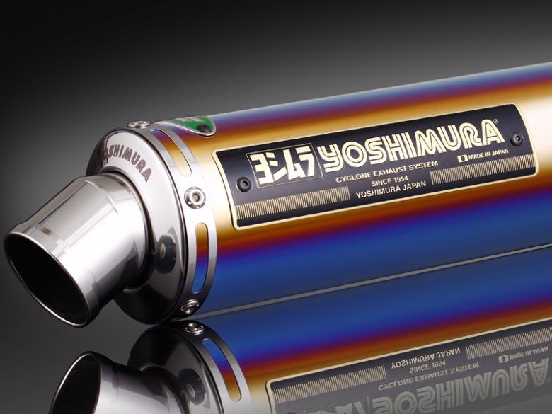 ヨシムラ 機械曲チタンサイクロン TTB Ape100 -06/Type-D 08 《ヨシムラジャパン 110-406-8281B》