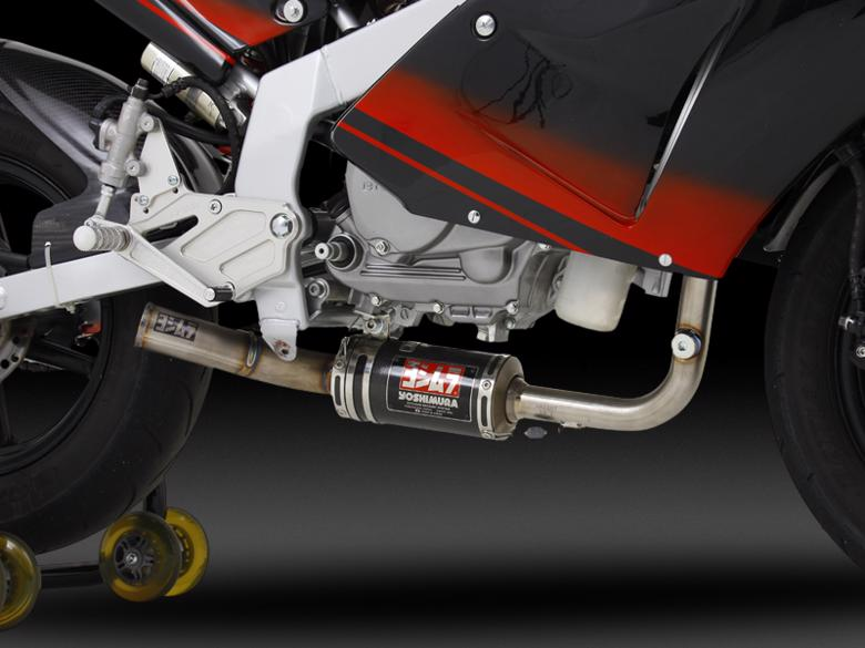 ヨシムラ レーシングチタンサイクロンver2 NSF100(鈴鹿レギュレーション仕様) 《ヨシムラジャパン 150-489A8D90》