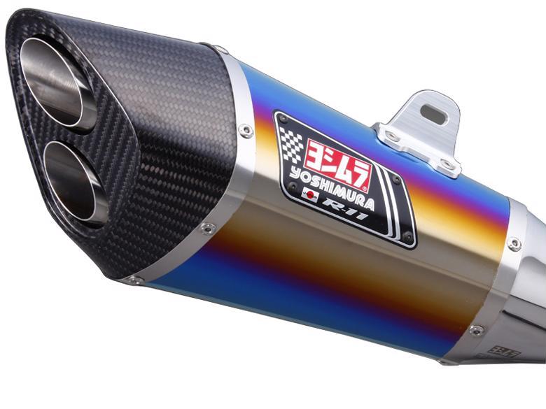 ヨシムラ S/O R-11サイクロン2エンド STB BMW S1000RR 10-11 《ヨシムラジャパン 110-635-5580B》