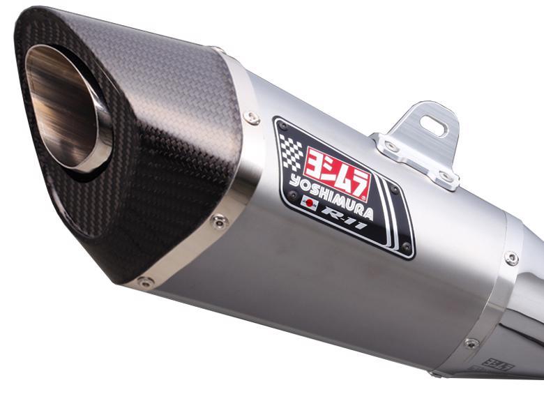 ヨシムラ S/O R-11 サイクロン 1エンド ST GSR750 11 EU仕様/13-> 《ヨシムラジャパン 110-158-5E80》