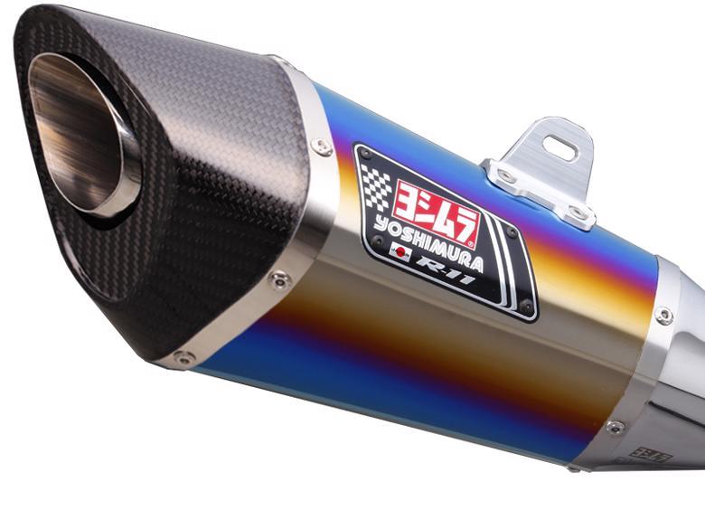 ヨシムラ S/O R-11 サイクロン 1エンド STB GSR750 11 EU仕様/13> 《ヨシムラジャパン 110-158-5E80B》